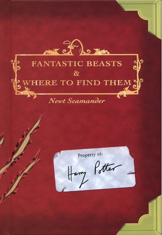 Fantastic beasts book of Harry 1.jpg